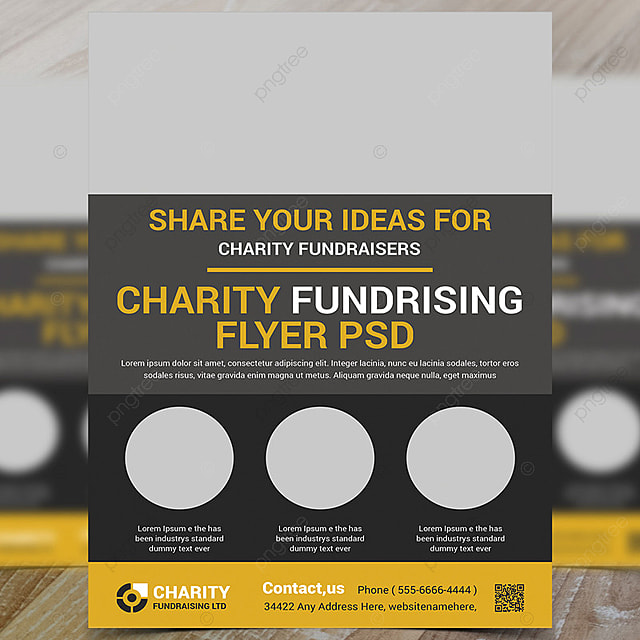 charity donation flyer template template for free download on pngtree