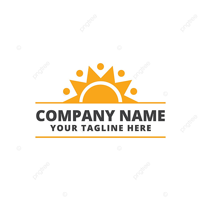 sunshine team logo template for free download on pngtree