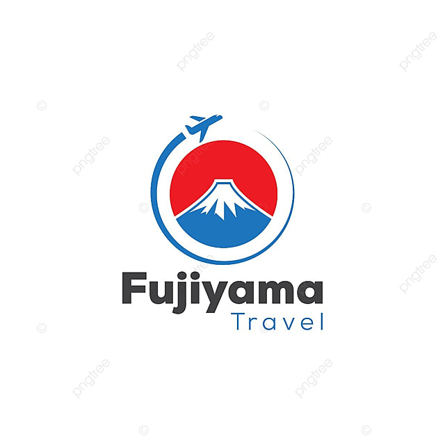 japan travel and tour logo template template for free download on