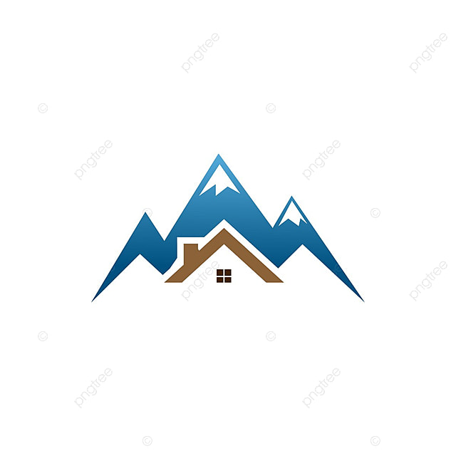 la maison mod u00e8le immobilier montagne logo mod u00e8le de