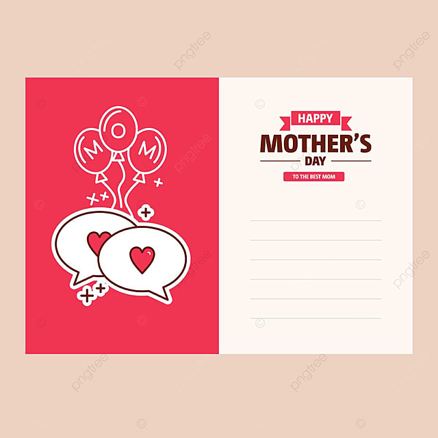 pngtreeにhappy mother s day cardテンプレートの無料ダウンロード