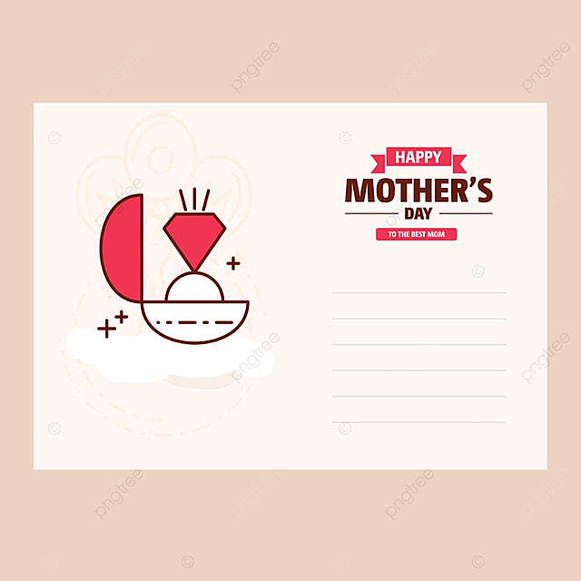 Happy mother day card template for free download on pngtree happy mother day card template maxwellsz