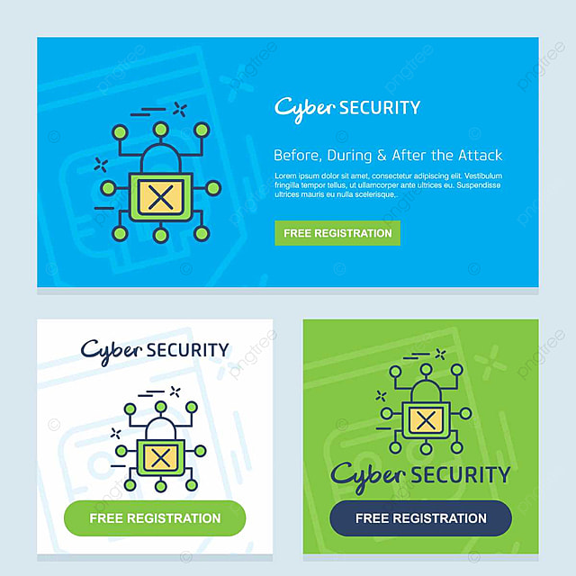 Cyber security card Template for Free Download on Pngtree