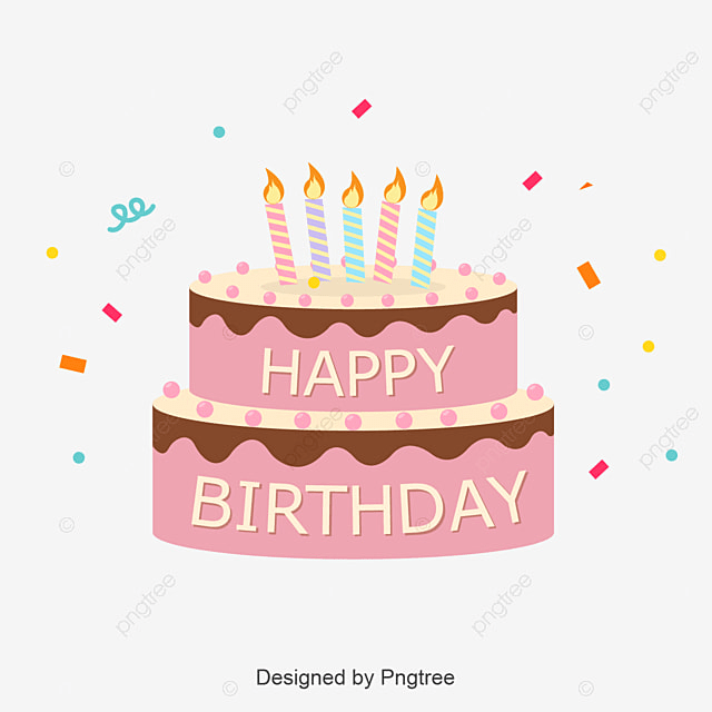 Cute Birthday Cake Logo Happy Children S Day Child Day Png And