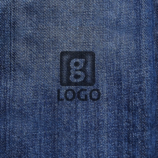 blue jeans logo mockup template for free download on pngtree