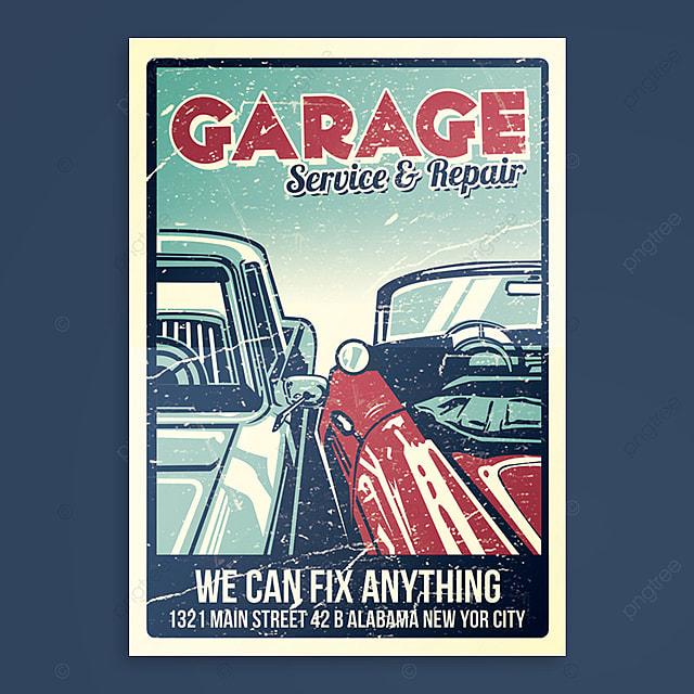 garage car service amp repair template for free download on pngtree