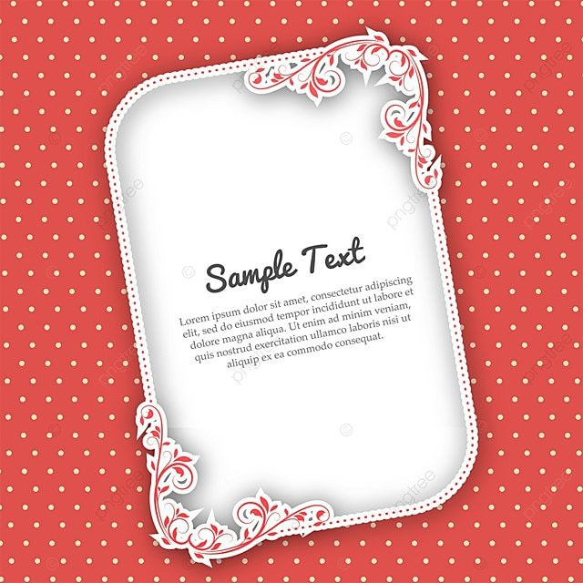 Floral Frame Wedding Invitation Card Template for Free Download on ...