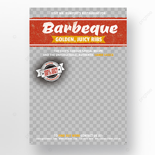 barbeque flyer template template for free download on pngtree