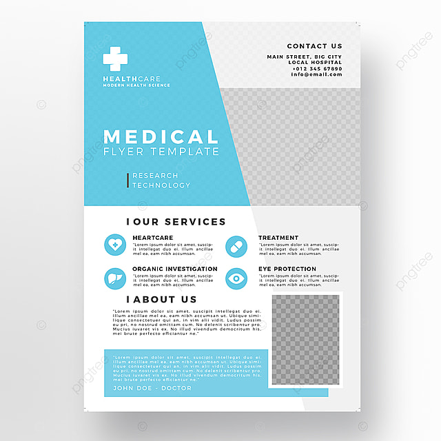 Hospital Flyer Template | Medical Flyer Template Template For Free Download On Pngtree