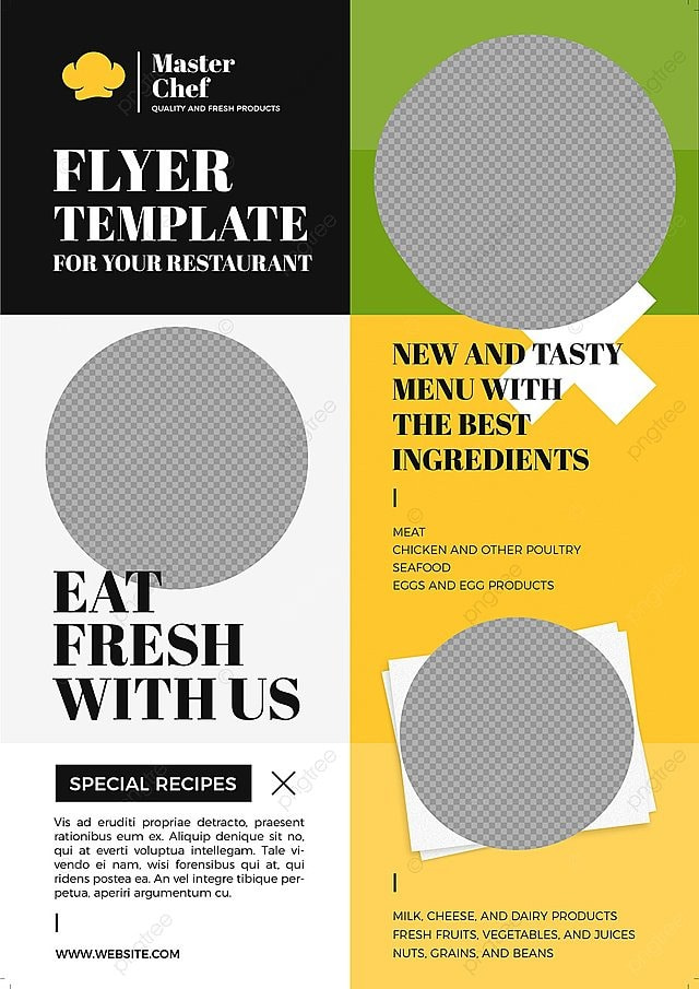 Healthy Food Flyer Template Template For Free Download On Pngtree