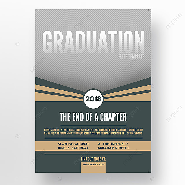 Graduation Flyer Template Template For Free Download On Pngtree