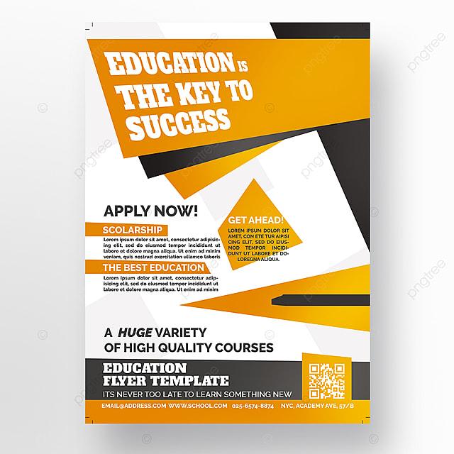pngtreeにeducation flyer templateテンプレートの無料ダウンロード