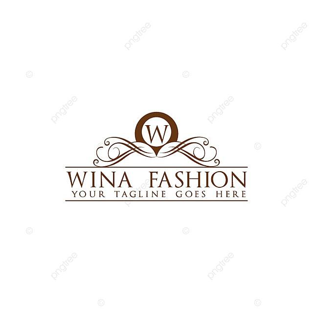 Wina Fashion Logo قالب تحميل مجاني على ينغتري