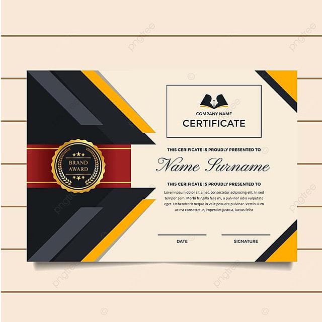 Prima moderna empresa certificado de logro y reconocimiento de ...