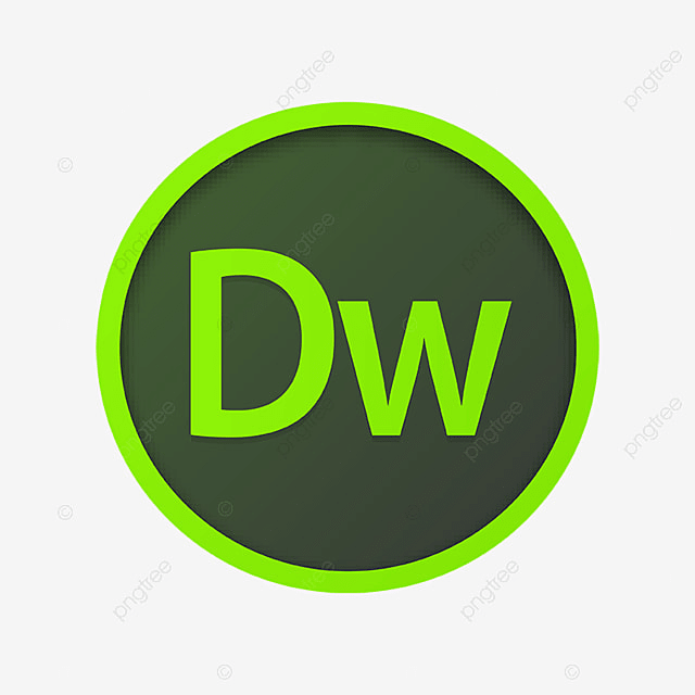 adobe dreamweaver icon logo template