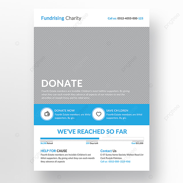 Charity Flyer Template Template For Free Download On Pngtree - Charity flyer template free