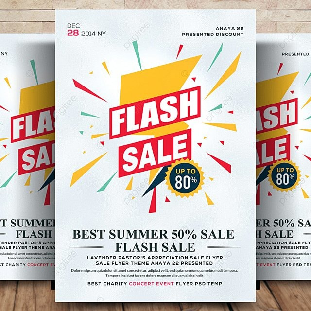 sales promotion flyer psd template for free download on pngtree