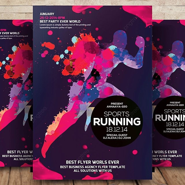 sports flyer template template for free download on pngtree