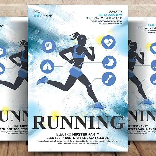 Running Flyer Template Template For Free Download On Pngtree