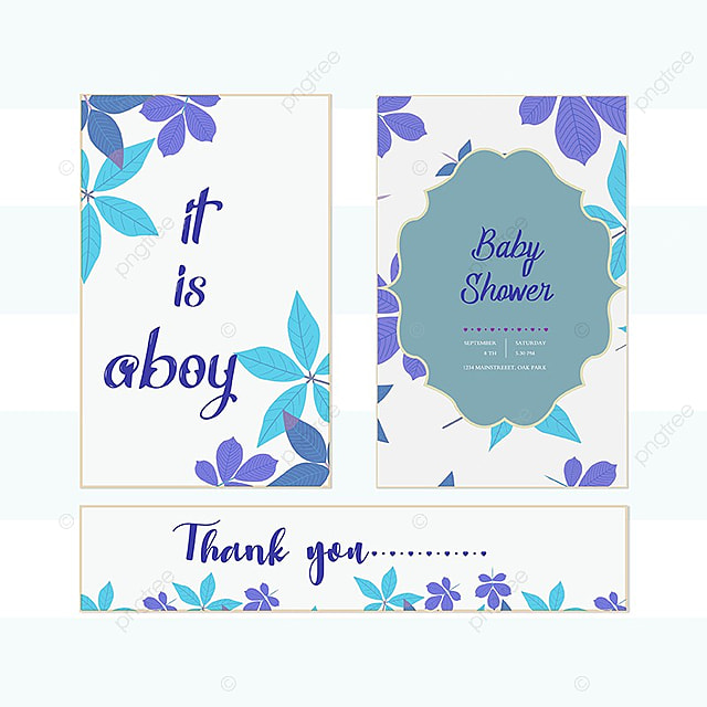 Baby shower Invitations Template for Free Download on Pngtree