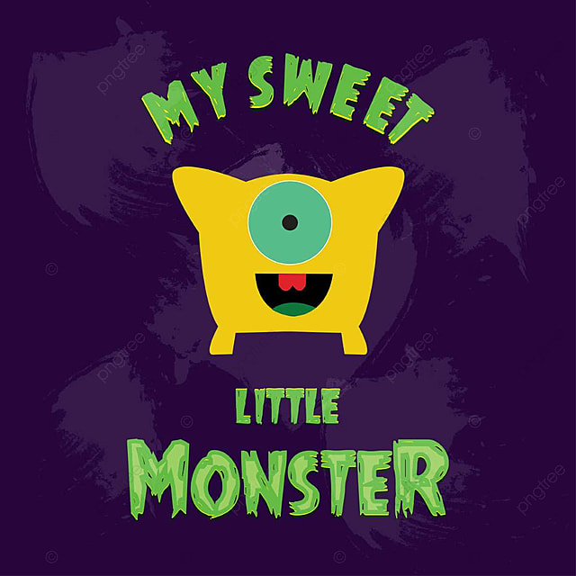 Little monster design logo vector Template for Free Download on Pngtree