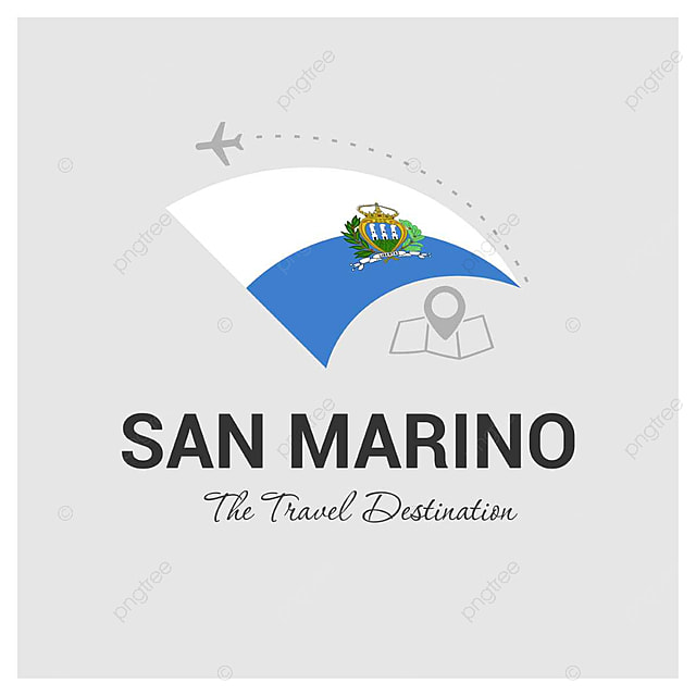 San Marino flag design LOGO vector Template for Free Download on Pngtree