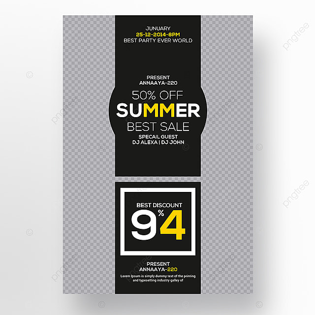 Summer Flyer Template Template For Free Download On Pngtree