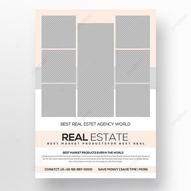 Real Estate Flyer Template Template For Free Download On Pngtree