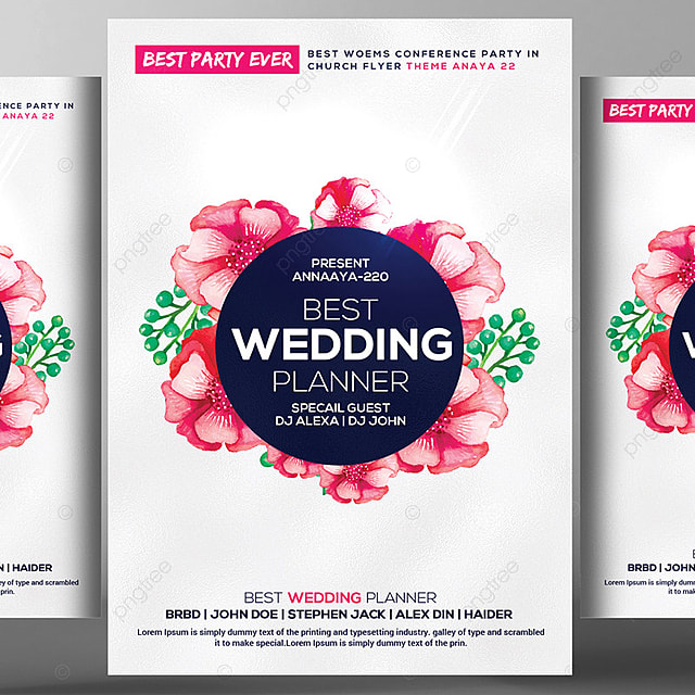 best wedding flyer template template for free download on pngtree