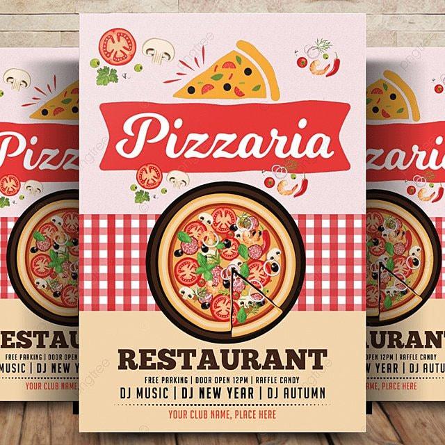 Menú de pizza Flyer Poster Descarga gratuita de plantilla en Pngtree
