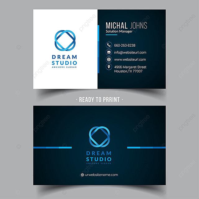 Sauber Und Kreative Visitenkarte Vorlage Zum Kostenlosen