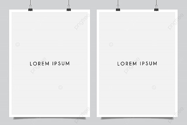 blank poster mockup template for free download on pngtree