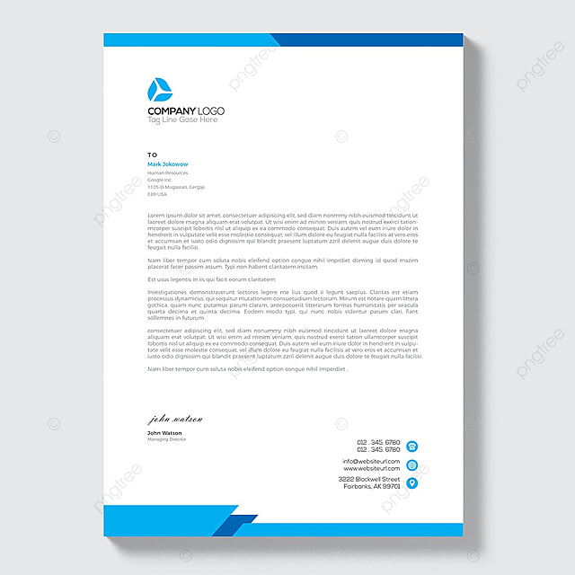 business style letterhead design template for free download on pngtree