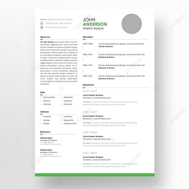 vector minimalista cv    curr u00edculo modelo com design bonito e simples typogrgaphy prazos modelo