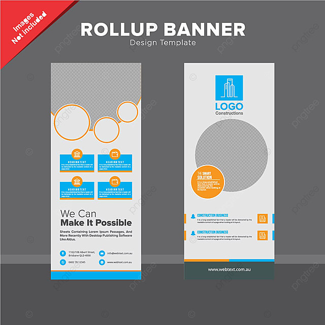 Professional Design Banners Business Transformation Banners