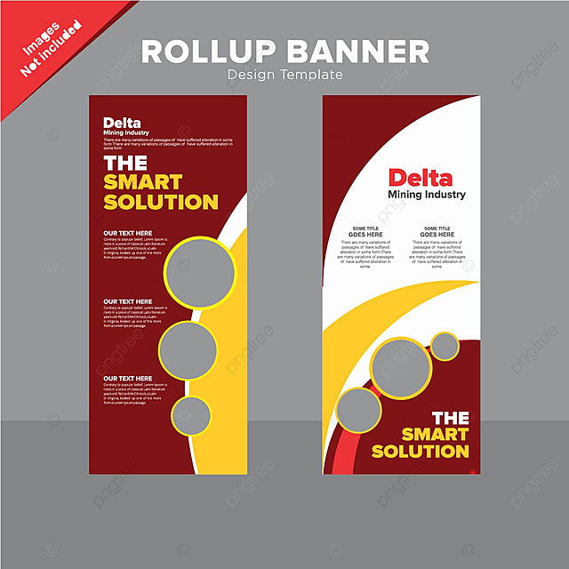 modern rollup banner design template template for free download on