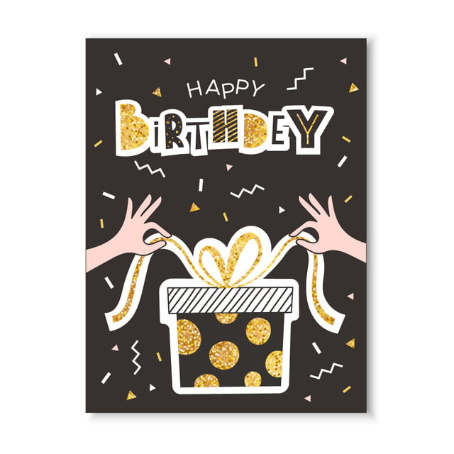 Happy Birthday Greeting Card Template For Free Download On Pngtree