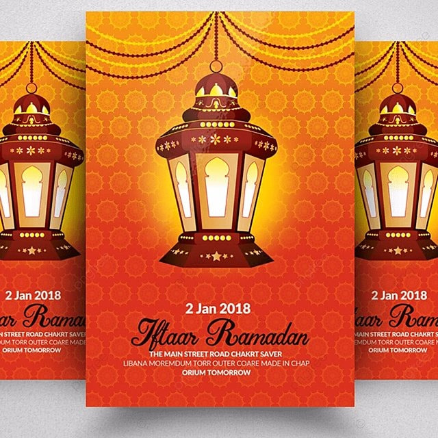 Ramadan Flyer Templates Template for Free Download on Pngtree