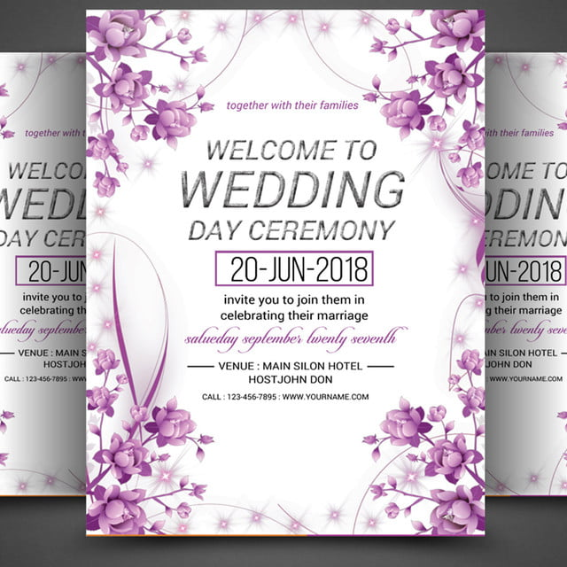 wedding poster template for free download on pngtree
