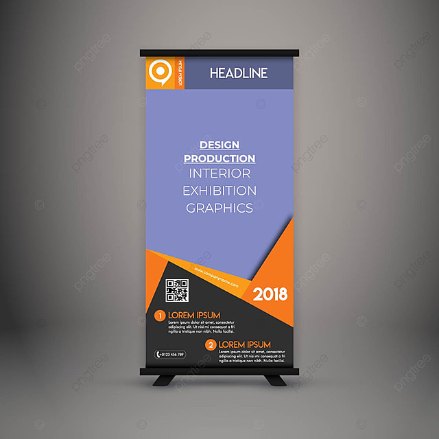 Corporate Standee Banner Template for Free Download on Pngtree