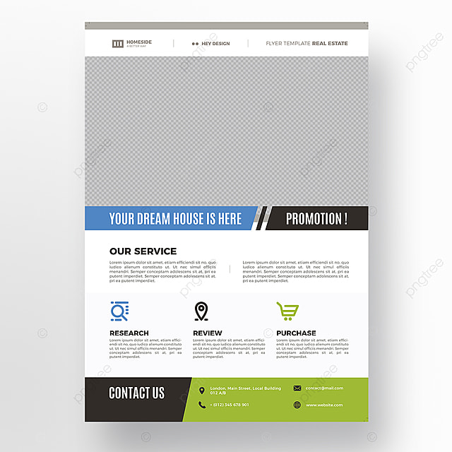 real estate flyer template modelo para download gratuito no pngtree