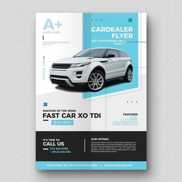 Car Flyer Flyer Template For Free Download On Pngtree