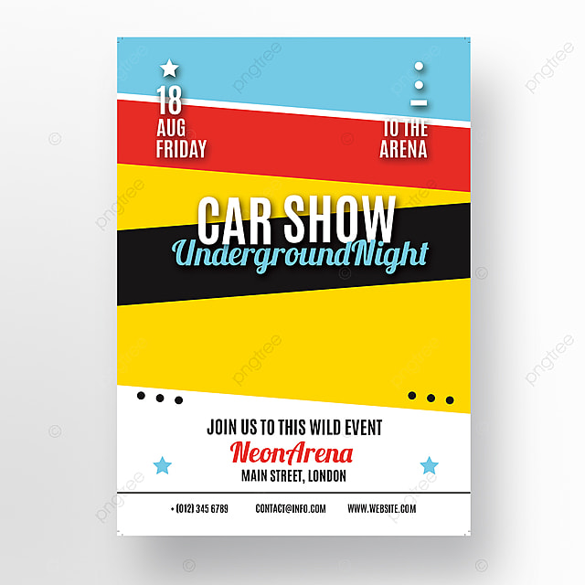 Car Show Flyer Template Template For Free Download On Pngtree - Car show flyer background