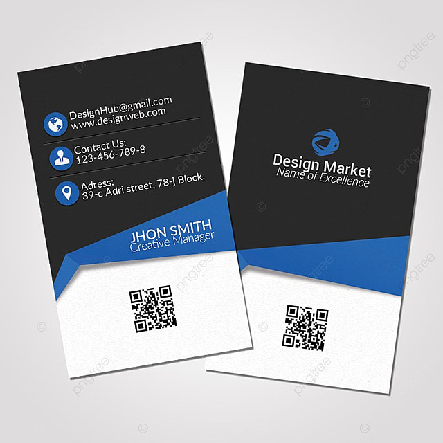 Vertical business card template for free download on pngtree vertical business card template flashek Images