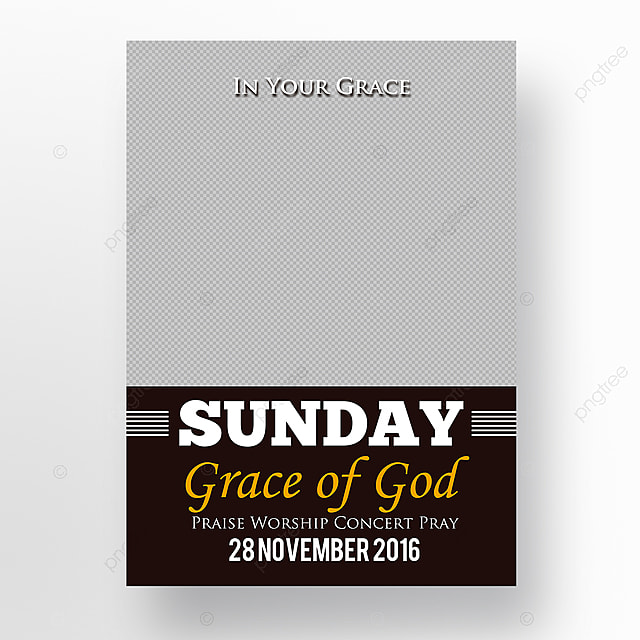 grace of church flyer template for free download on pngtree