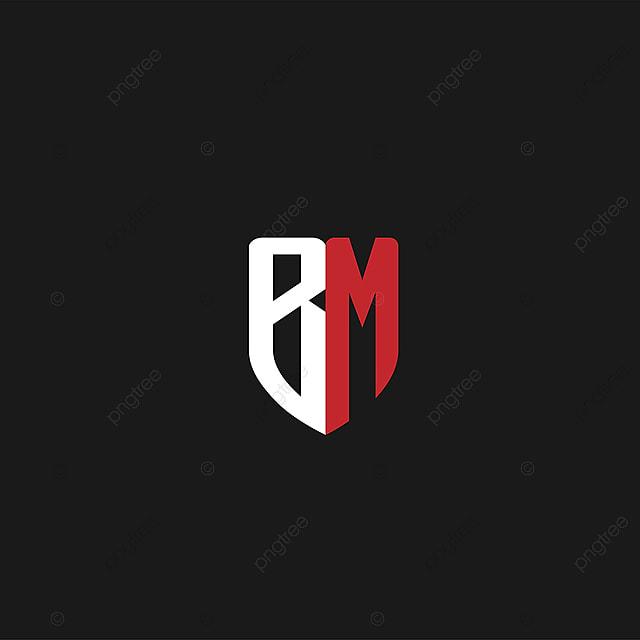pngtreeに最初の手紙はbmのロゴデザインテンプレートの無料ダウンロード