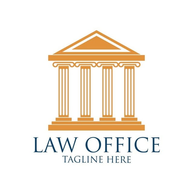 Law Firm Logo With Text Space For Your Slogan Vector
