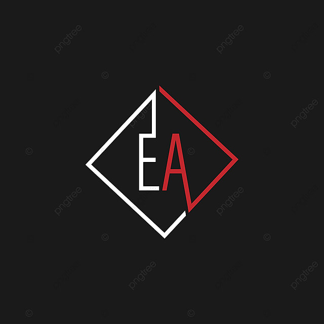 initial letter ea logo template template for free download