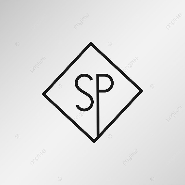 Initial Letter Sp Logo Template Template For Free Download