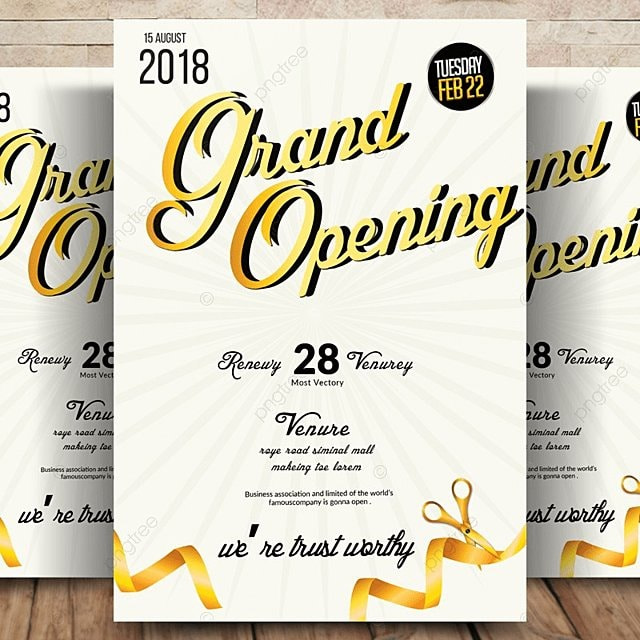 business grand opening flyer template for free download on pngtree